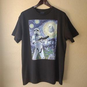 Star Wars Storm Trooper Starry Night Graphic Tee